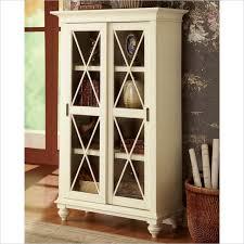 riverside furniture coventry two tone bookcase in dover white