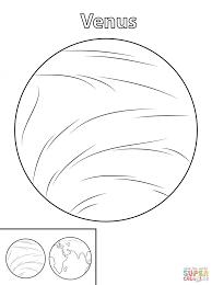 venus planet coloring pages download printable space