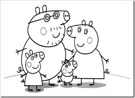 peppa pig painting wallpapers