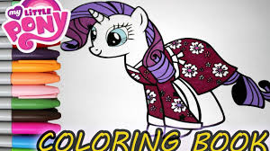 rarity my little pony coloring book my little pony characters