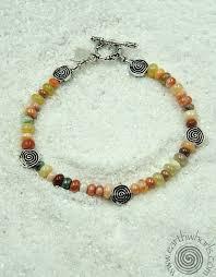 stone silver bracelet images Chakra mixed stone sterling silver bracelet earthwhorls llc jpg
