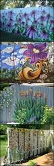 294 best outdoor garden murals images on pinterest fence tired of your old paling fence would any of these help if you