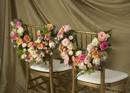 Bride And Groom Chair Wedding Chair Decorations Fresh Flowers