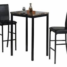 counter height table ikea table chair cheap dining chairs set of 4 3 piece counter height