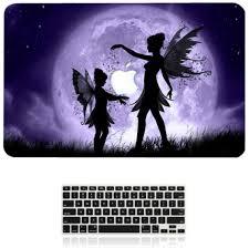 2017 butterfly fairy pattern hard case keyboard cover for apple