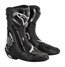 mens black motorcycle riding boots 233 27 alpinestars mens smx plus boots 2014 197051