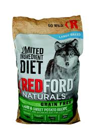 redford naturals limited ingredient diet grain free large breed