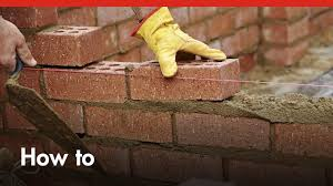 how to build a brick wall diy at bunnings youtube