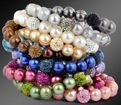colored pearl bracelet images Jewelers honora pearls jpg