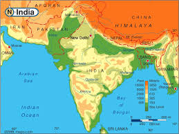 map of nepal and india javea in nepal