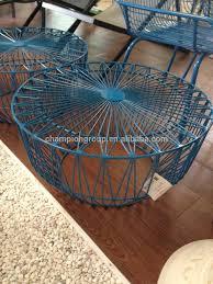Wire Side Table Havana Gevmetric Wire Side Table Buy Metal Wire Side Table
