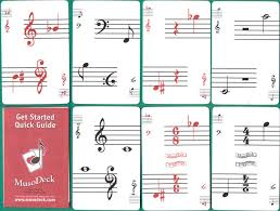 musical cards musodeck cards for musicians the world of cards