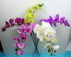 wholesale silk flowers sjh011130 singapore orchid flower artificial flower cheap