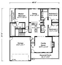 1500 square foot house plans 1500 square 3 bedrooms 2 batrooms parking space on 1