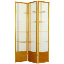 Panel Shoji Screen Room Divider - oriental furniture bamboo tree 84 inch shoji screen room divider