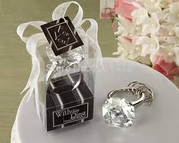 bridal shower gift ideas for guests personalized party souvenir gift artificial diamond