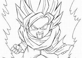 goku coloring pages coloring4free