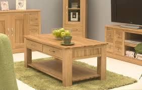 Conran Solid Oak Living Room Lounge Furniture Four Drawer Storage - Oak living room sets