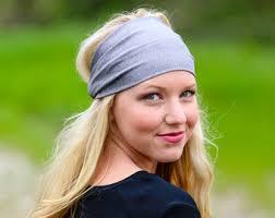 s headbands gray headbands etsy