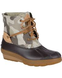 womens duck boots sale deal alert s sperry top sider saltwater wedge tide duck