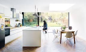 kitchen diner flooring ideas open plan kitchen extension ideas for the house