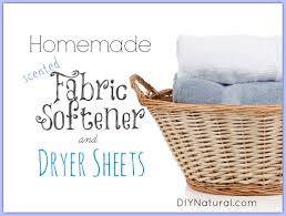 Best Fabric For Sheets by Homemade Fabric Softener And Dryer Sheets With Natural Scents