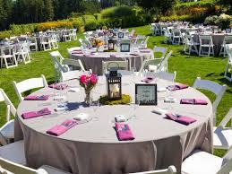 home decor beautiful backyard wedding reception outside