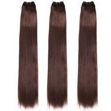 weave extensions nadula 3 bundles 2 darkest brown remy human hair weave