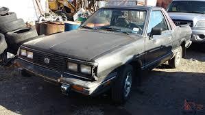 subaru brat custom subaru brat gl standard cab pickup 2 door 1 8l