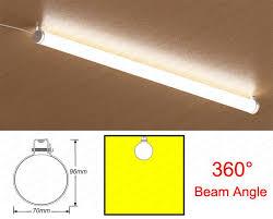 linear flush mount ceiling light 36w 1200mm 360deg lighting linear tube led flush mount ceiling