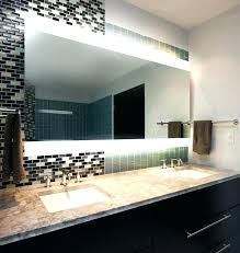 bathroom mirrors and lighting ideas bathroom mirror with built in clock mirrors lights home designs