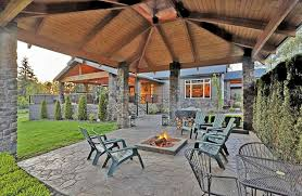 Patio Firepit Magical Outdoor Pit Seating Ideas Area Designs