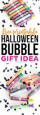 free halloween printable bubble gift idea printable crush