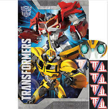 transformers party transformers theme party and activities ebay