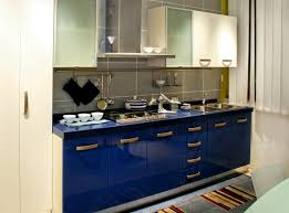 Blue Cabinets In Kitchen | modern polished blue cabinet kitchen tedx blog dark blue kitchen
