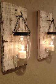 rustic diy lamps i could put them in the dining room around the