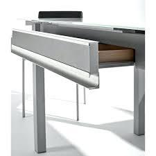 table cuisine escamotable tiroir table cuisine tiroir table en verre avec tiroir et allonges table de
