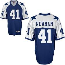 Cowboys Jersey Thanksgiving Reebok Dallas Cowboys 41 Terence Newman Blue Thanksgiving Jersey