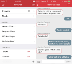 chat between iphone and android firechat s offline chat feature is now cross platform