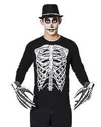 Glow In The Dark Skeleton Costume Kids Glow In The Dark Skeleton Morphsuit Costume Spirithalloween Com