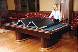 Fitted Billiard  Pool Table Covers  Dining Inserts - Pool table disguised dining room table