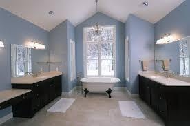 bathroom cool bathroom wall color with dark cabinets home design