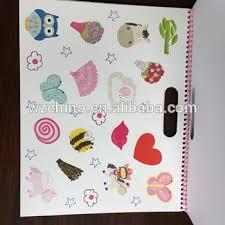 2015 design kids color filling book wire binding buy