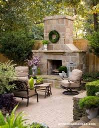 Backyard Rooms Ideas by Country French Loggias Traditional Home Landscaping
