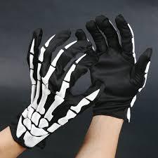 halloween skeleton gloves foaming skeleton costume party supplies