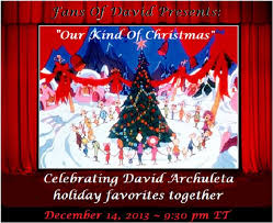 david archuleta and a merry monday an early christmas card from