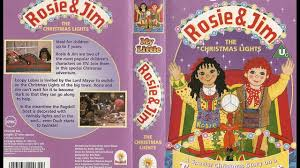 my little rosie and jim christmas lights complete vhs tape 1996