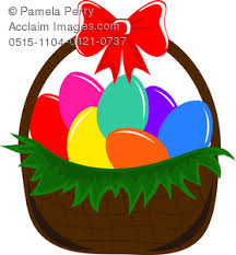 eater basket easter basket clipart stock photography acclaim images