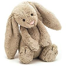 stuffed bunny jellycat bashful beige bunny stuffed animal medium