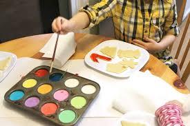 demoss designs super easy painted christmas cookies